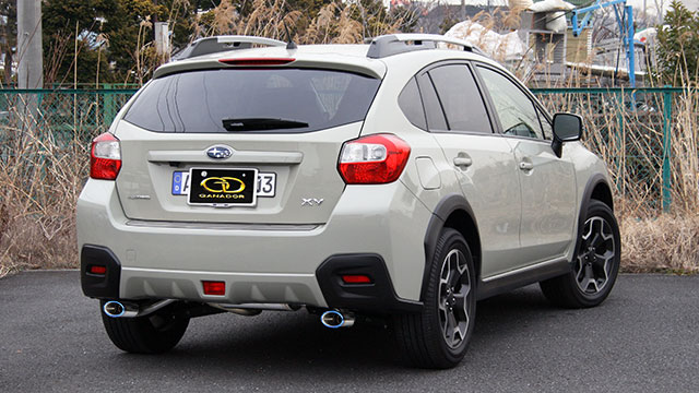 GANADOR ガナドール マフラー Vertex Sports XV DBA-GP7 2012/10~2017/4 FB20(1.995cc) AWD リニアトロニック [2.0i / 2.0i-L / 2.0i-L EyeSight] 個人宅配送不可 沖縄・離島は要確認