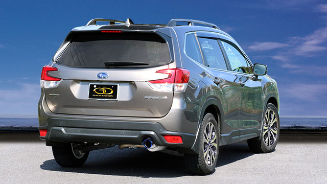 GANADOR ガナドール マフラー Vertex Sports フォレスター 5BA-SK9 H30.7~ FB25(2498cc) AWD リニアトロニック [Touring / Premium] 個人宅配送不可 沖縄・離島は要確認