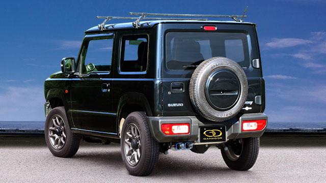 GANADOR ガナドール マフラー Vertex 4WD/SUV ジムニー 3BA-JB64W 2018/7~ R06A (658cc) 5MT [XC / XL / XG] 個人宅配送不可 沖縄・離島は要確認