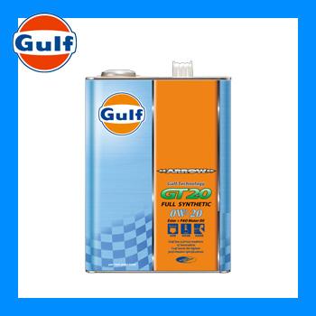 Gulf ガルフ エンジンオイル ARROW GT20 アローGT20 4L 0W-20 全合成油 3本セット セールSALE%OFF 1ケース 爆買い新作