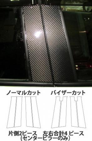 [hasepro] ハセプロ マジカルカーボン センターピラーセット ジューク F15 2010/6~