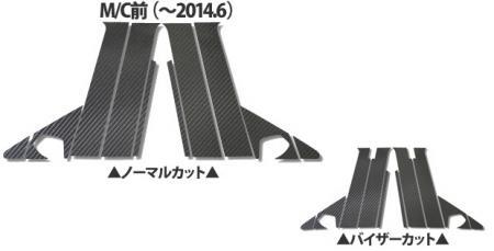 [hasepro] ハセプロ マジカルカーボン ピラーフルセット ギャランフォルティススポーツパック CX3A CX4A ~2014/6