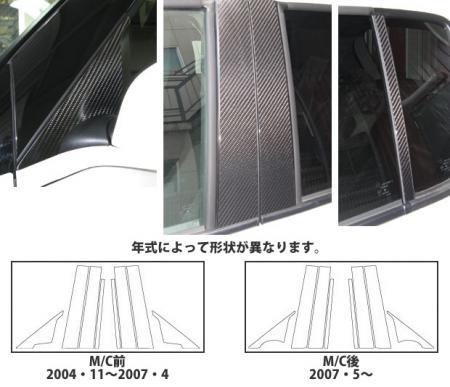[hasepro] ハセプロ マジカルカーボン ピラーセット スイフト ZC11S ZC21S ZC31S ZC71S ZC72S ZD11S ZD21S ZD72S 2004/11~