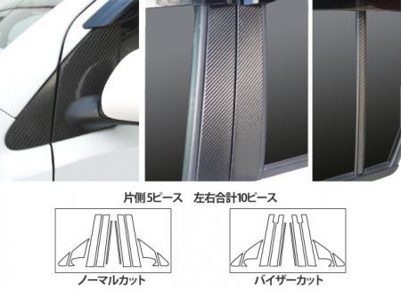 [hasepro] ハセプロ マジカルカーボン ピラーフルセット ブーン M300S M301S M310S M312S 2004/6~2010/1