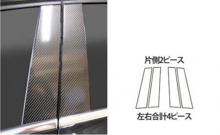 [hasepro] ハセプロ マジカルカーボン ピラースタンダードセット ベンツ GLAクラス X156 2014/5~