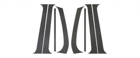 [hasepro] ハセプロ マジカルカーボン ピラースタンダードセット フォルクスワーゲン ゴルフ3 1H 1992/4~1998/8