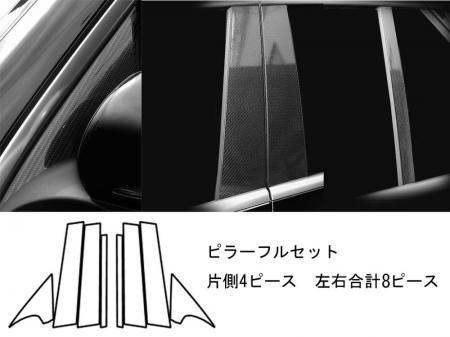 [hasepro] ハセプロ マジカルアートシートNEO ピラーフルセット ベンツ GLCクラス X253 2016/2~