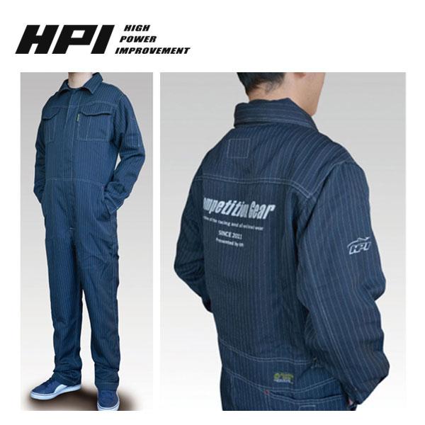 [HPI] 作業ツナギ ネイビー M