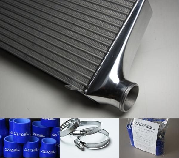 [HPI] インタークーラー TYPE-WF 72mm厚 ブルー/ホースバンド ランサーエボリューション4/5/6 CN9A CP9A 4G63