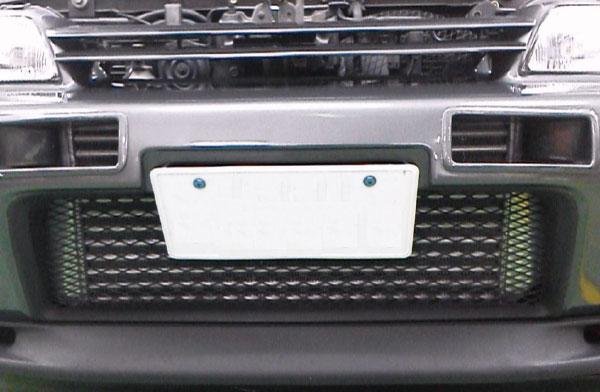[HPI] インタークーラー TYPE-WF 100mm厚 スカイラインGT-R BNR34 MFD非装着車 RB26DETT 600mm幅ICコアのみ