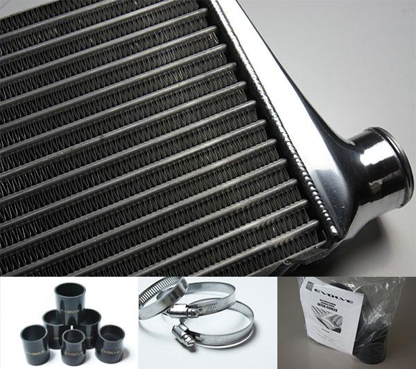 HPI インタークーラーキット spec.S 72mm厚 黒/ホースバンド シルビア S14 S15 SR20DET