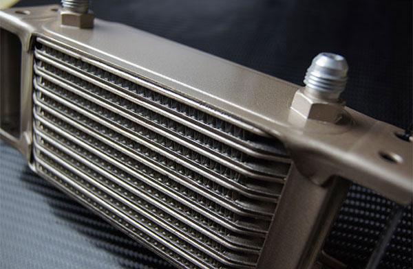 [HPI] ドロンカップ式 オイルクーラーコア単体 16段 L300×H230×W50