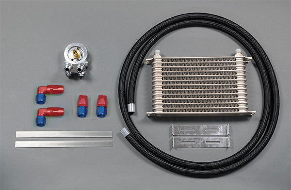 HPI ドロンカップ式 オイルクーラーキット 13段 右フェンダー マークII / クレスタ / チェイサー JZX100 1JZGTE 96/09~00/12 HPIインタークーラー装着車専用