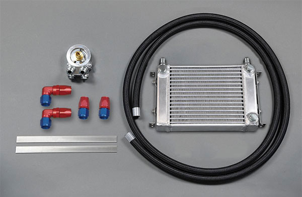 [HPI] サイドタンク式 EVOLVE汎用オイルクーラーキット オイルエレメント純正位置 W2 3/4-16UNF