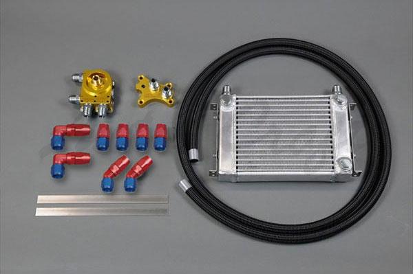 HPI サイドタンク式 汎用オイルクーラーキット SR20オイルエレメント移動タイプ 正転タイプ W1