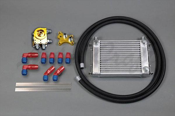 バーゲンセール 特売 HPI EVOLVE汎用オイルクーラーキット SR20オイルエレメント移動タイプ 反転タイプ W3