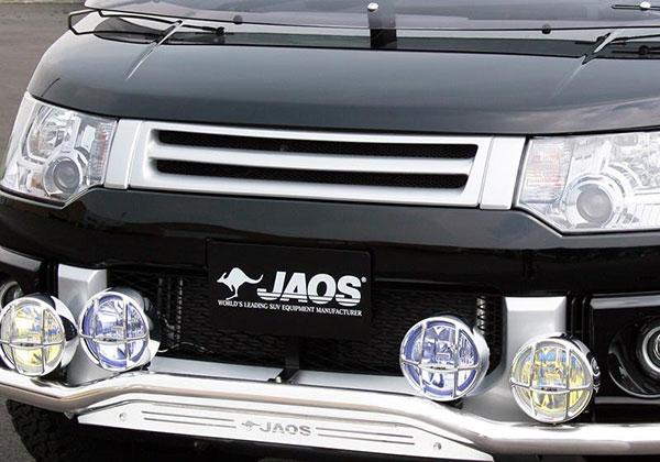JAOS ジャオス フロントグリル カメラ無用 デリカ D:5 07.01~ NVカメラ無車 ※送料注意