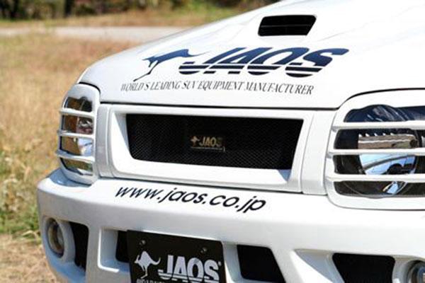 JAOS ジャオス フロントグリル ジムニー JB23系 02.01~ 4型以降 ※送料注意