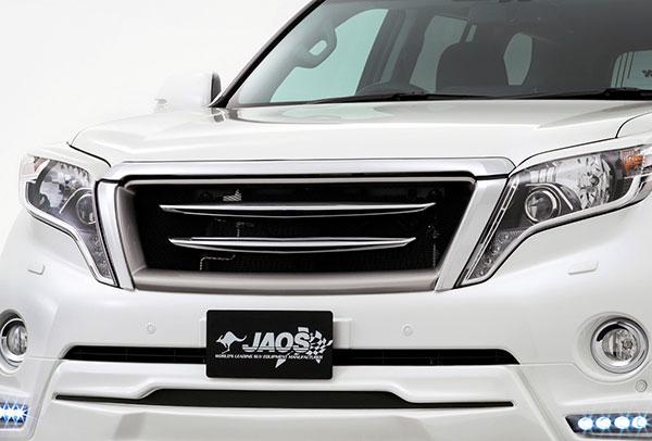 JAOS ジャオス クロームブレードグリル フロントカメラ無用 プラド 150系 ※送料注意