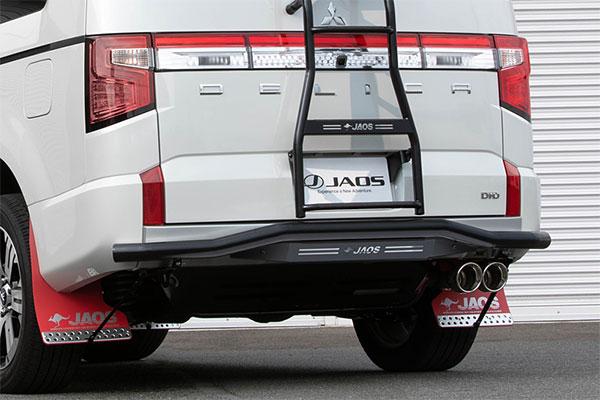 JAOS ジャオス リヤスキッドバー ブラック/ブラック デリカ D:5 19.02- 新型ディーゼル(4N14) ※送料注意