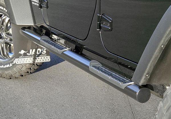 JAOS ジャオス ブラックサイドステップ ラングラー JK 07.03~ UNLIMITED ※送料注意
