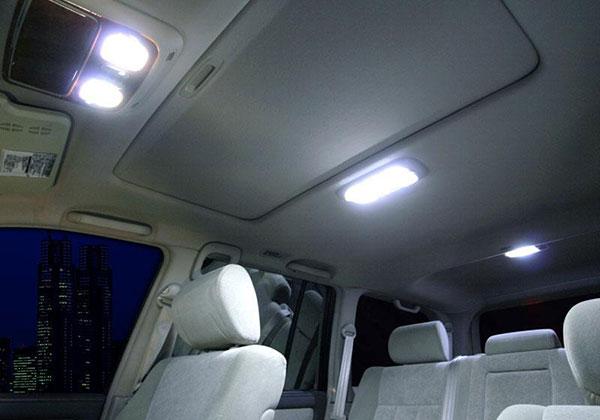 JAOS ジャオス LEDルームランプ ランドクルーザー 100系 シグナス 98.12~07.08 大型オーバーヘッドコンソール付車除 ※送料注意