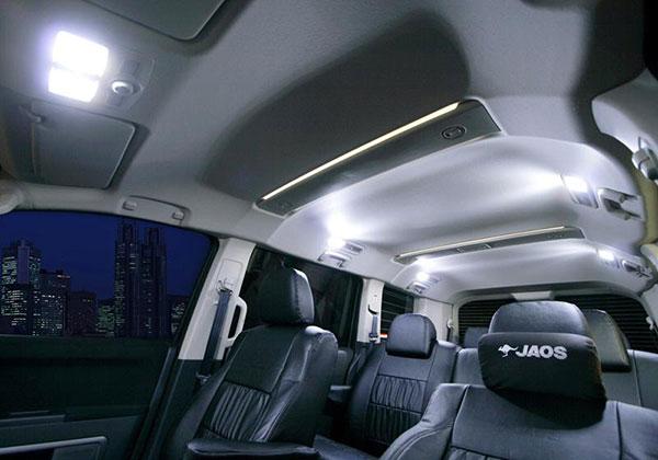 JAOS ジャオス LEDルームランプ 07-12用 デリカ D:5 07.01~12.06 トリプルパノラマルーフ車除 ※送料注意