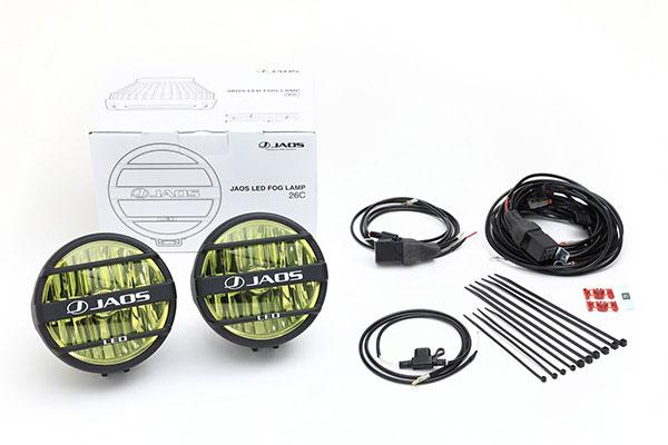 JAOS ジャオス LED フォグランプ 26C イエロー 汎用 ※送料注意