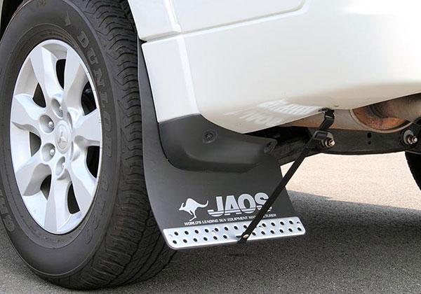 JAOS ジャオス マッドガードIII リヤセット ブラック パジェロ V80/90系 06.10~ ALL ※送料注意