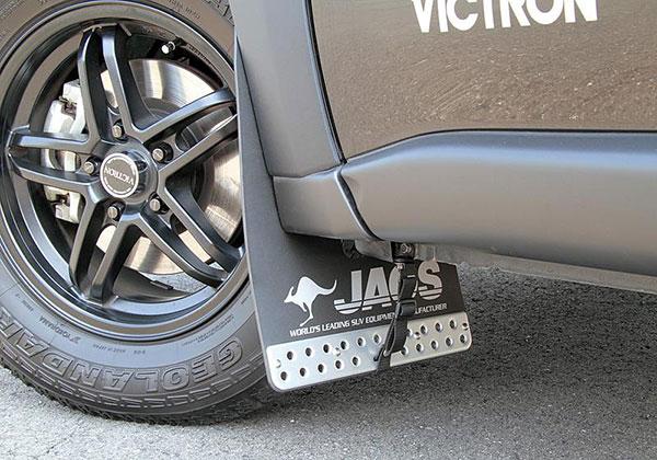 JAOS ジャオス マッドガードIII フロントセット ブラック エクストレイル 31系 07.08~ ALL ※送料注意