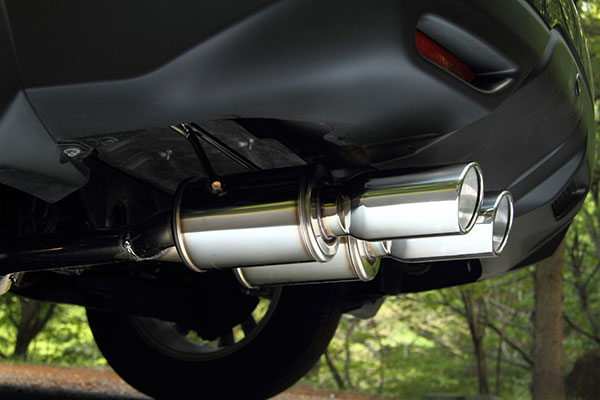 JAOS ジャオス BATTLEZ マフラー ZS-2 ガソリン車用 エクストレイル 32系 13.12~ MR20DD(DBA-NT32、4WD、ガソリン) ※送料注意