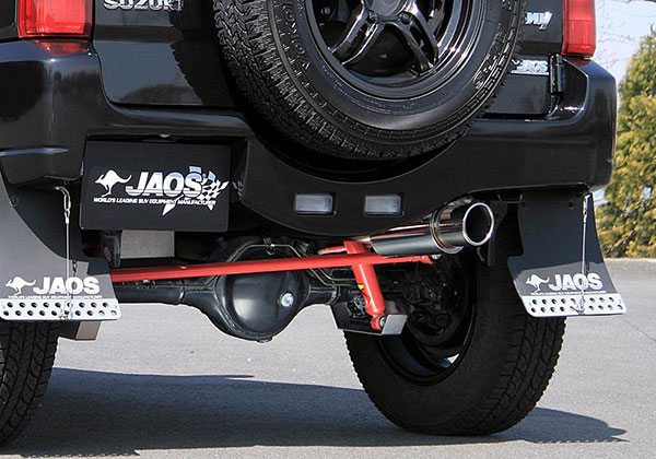 JAOS ジャオス BATTLEZ マフラー ZS リヤスポーツカウル、リヤクロスカウル用 ジムニー JB23系 04.10~ 5型- ※送料注意