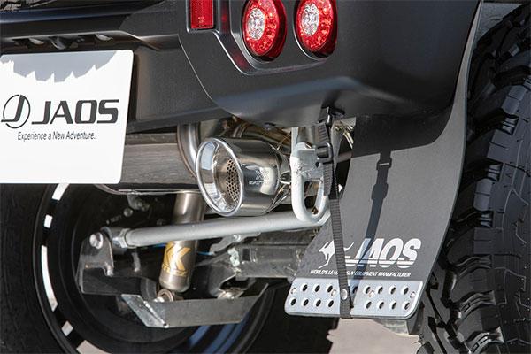 JAOS ジャオス BATTLEZ マフラー ZS リヤスポーツカウル用 ジムニー 18.07- JB64W リヤスポーツカウル(B042513)付車 ※送料注意