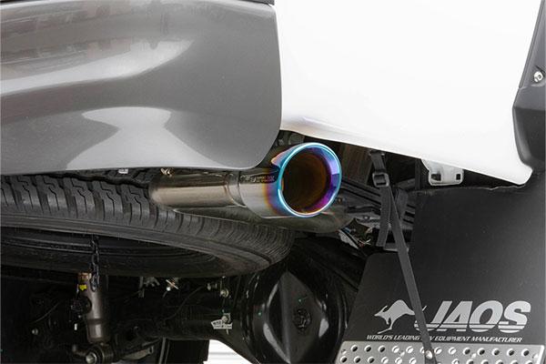 JAOS ジャオス BATTLEZ マフラー ZS-S TC チタンカラーテール ハイラックス 17.09- GUN125 ※送料注意