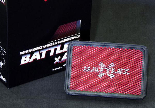 JAOS ジャオス BATTLEZ エアクリーナー ディーゼル車用 デリカ D:5 13.01~ 4N14 ※送料注意