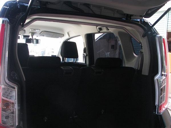 カワイ製作所 リヤピラーバー typeスクエア ムーヴ LA160S 2014/12~ 4WD