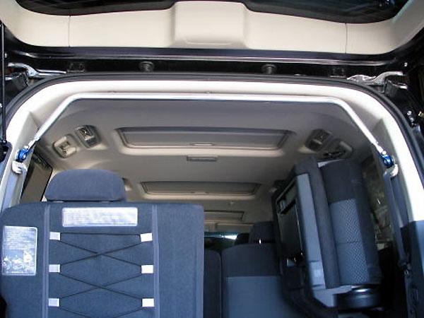 カワイ製作所 リヤピラーバー typeスクエア デリカD:5 01~ メーカー直送 2007 CV5W 外径25Φアルミシャフト使用 優先配送