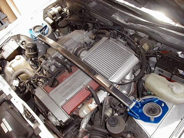 カワイ製作所 フロントストラットバー typeOS フェアレディZ PGZ31 RB20車