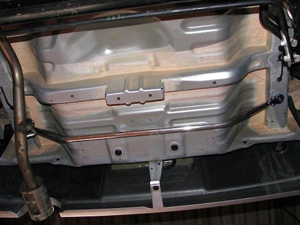 カワイ製作所 リヤモノコックバー ブーン M301S 4WD車未確認