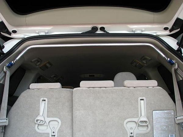 カワイ製作所 リヤピラーバー typeスクエア エスティマ ACR50W モデル着用&注目アイテム ACR55W 2006 GSR50W 01~ サービス パワーバックゲート車装着不可 GSR55W