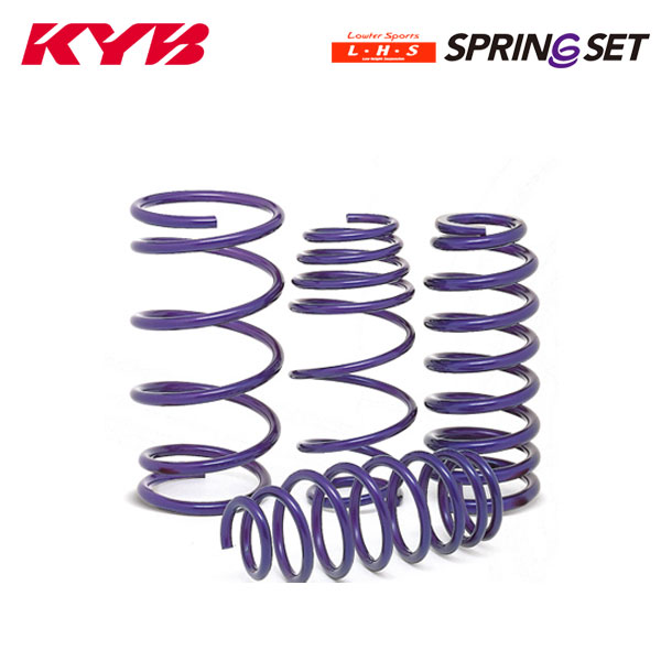 [KYB] カヤバ ローファースポーツ LHS スプリング 1台分 4本セット カローラルミオン ZRE152N 07/10~ 1.8L 2ZR-FE FF [全グレード]