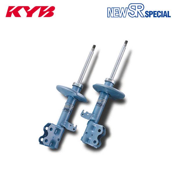 KYB カヤバ ショックアブソーバー ニューSRスペシャル フロント 2本セット デリカ PE8W 95/08~98/04 2.8L 4WD ハイルーフ XG/エクシード1/XR