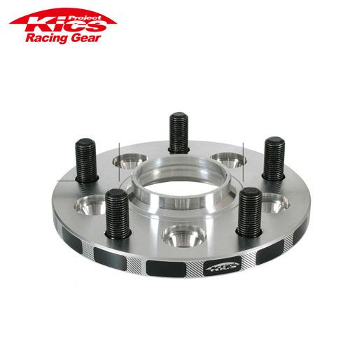協永産業 Kics ワイドトレッドスペーサー 2枚セット ネジサイズM12 x P1.5 4穴 PCD100 厚み11mm
