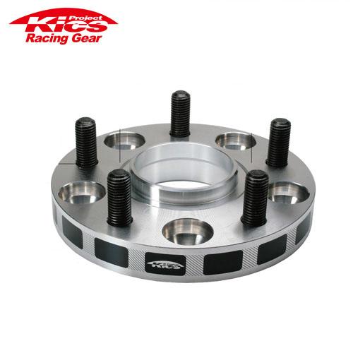 協永産業 Kics ワイドトレッドスペーサー 2枚セット ネジサイズM12 x P1.25 4穴 PCD100 厚み20mm