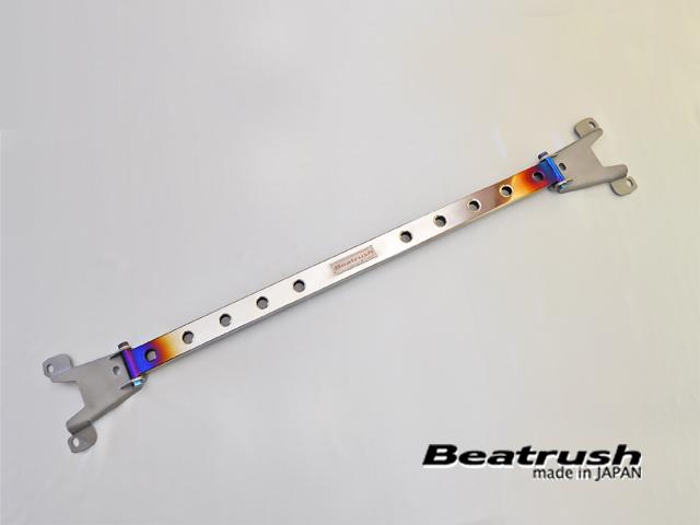 LAILE レイル Beatrush ストラットタワーバー リア チタン スバル WRX STI [VAB 14.08~] ※沖縄・離島は都度確認