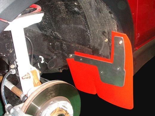 LAILE レイル ARP SPORT マッドフラップ リア レッド トヨタ ヴィッツ [NCP91 05.2~10.12] ※沖縄・離島は都度確認