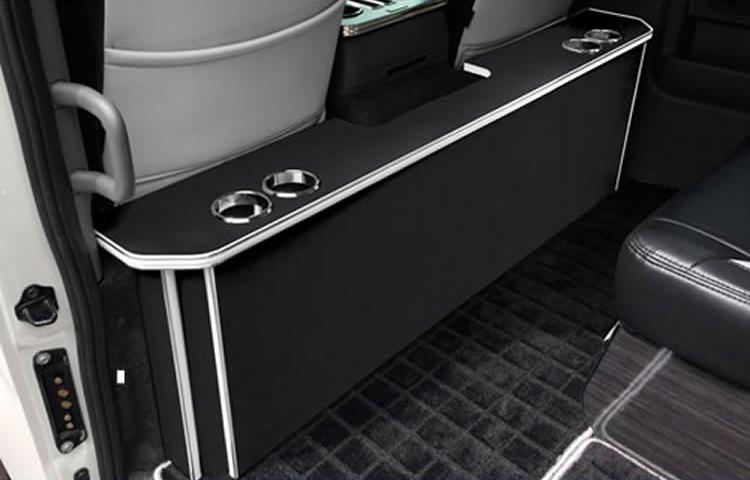 レガンス LEGANCE パーソナルカウンターテーブル ドリンクホルダー4個 左右 NV350キャラバン プレミアムGX ワゴンGX 全7カラーから選択可能 日本製 高品質