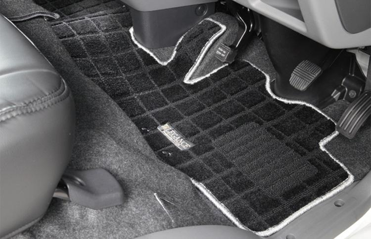レガンス LEGANCE NV350キャラバン ワッフルフロアーマット ナロー バンDX 9人乗り