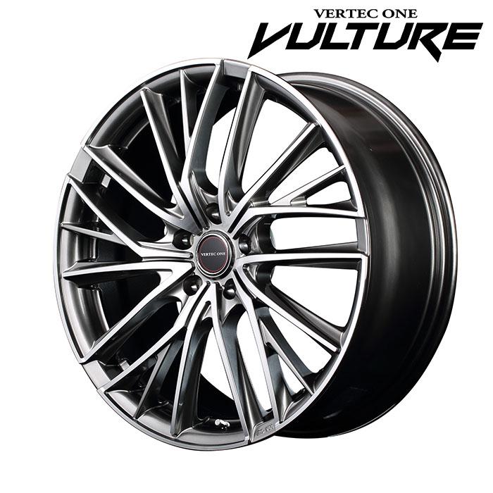 VERTECONE VULTURE ヴァルチャー (ハイパーシルバーポリッシュ) SUBARU WRX STI VAB 2014/8~2017/6 19×8.0J 5H PCD114.3 +45 4本購入で送料無料