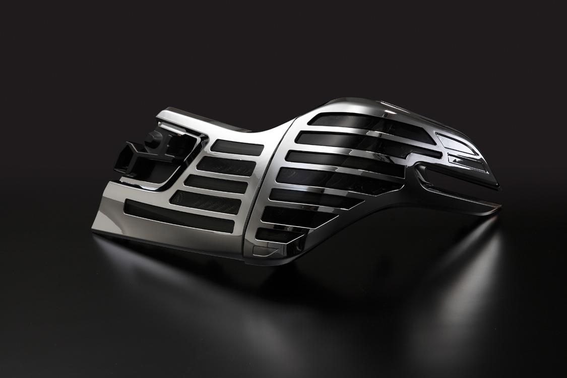 METEO メテオ LEDテールランプ スモークテール メッキカバー TY-VE30-S-CAC 【TOYOTA 30系 ヴェルファイア】